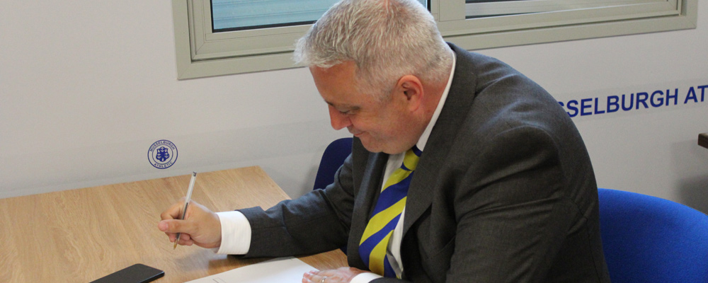George Fraser Elected Lowland League Chairman