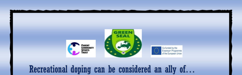 Greenseal anti-doping… Choose Health