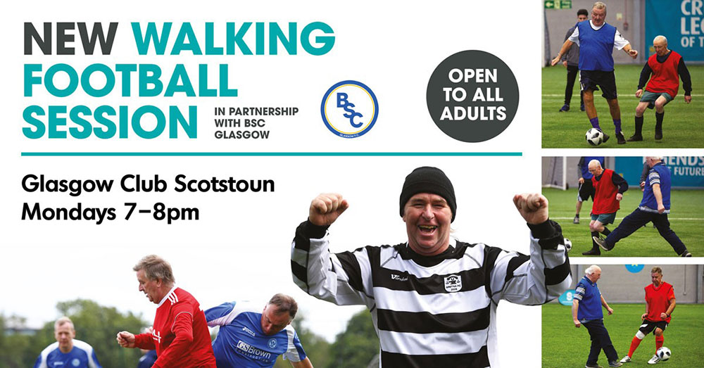 New Walking Football Session Every Monday