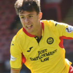 Evan Galasso in action for Partick Thistle