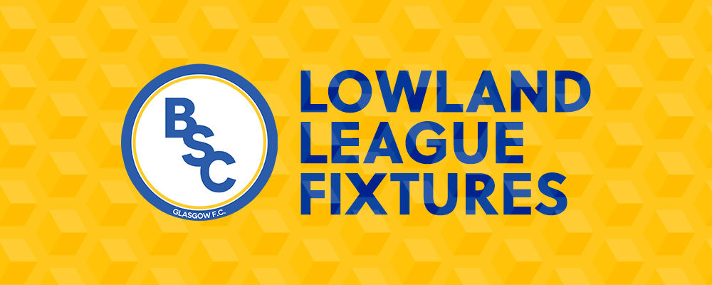 Lowland League Fixtures